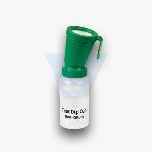Συσκευή εμβάπτισης θηλής με επιστροφή (Dip cup)