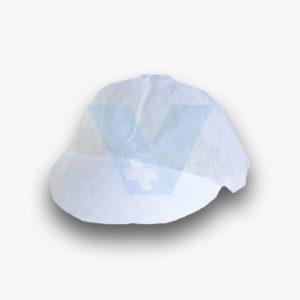 Καπέλο λευκό μιας χρήσης