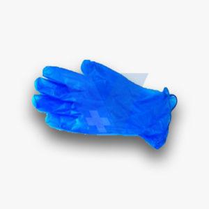 Γάντια μπλε μίας χρήσης