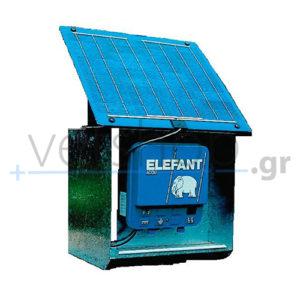 Συσκευή Ηλεκτρικής Περίφραξης Με Φωτοβολταϊκό Πίνακα Elephant A 25