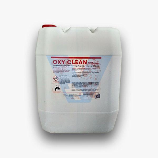 Απολυμαντικό αμελκτηρίου όξινο 18kg (OXY CLEAN)