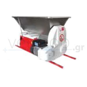 Σπαστήρας ηλεκτροκίνητος σταφυλιών με διαχωριστή ARES 15S