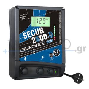 Συσκευή ηλεκτρικής περίφραξης Secur 2600D