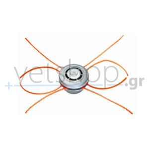 Κεφαλή αλουμινίου πολλαπλών εξαγωγών ευθεία